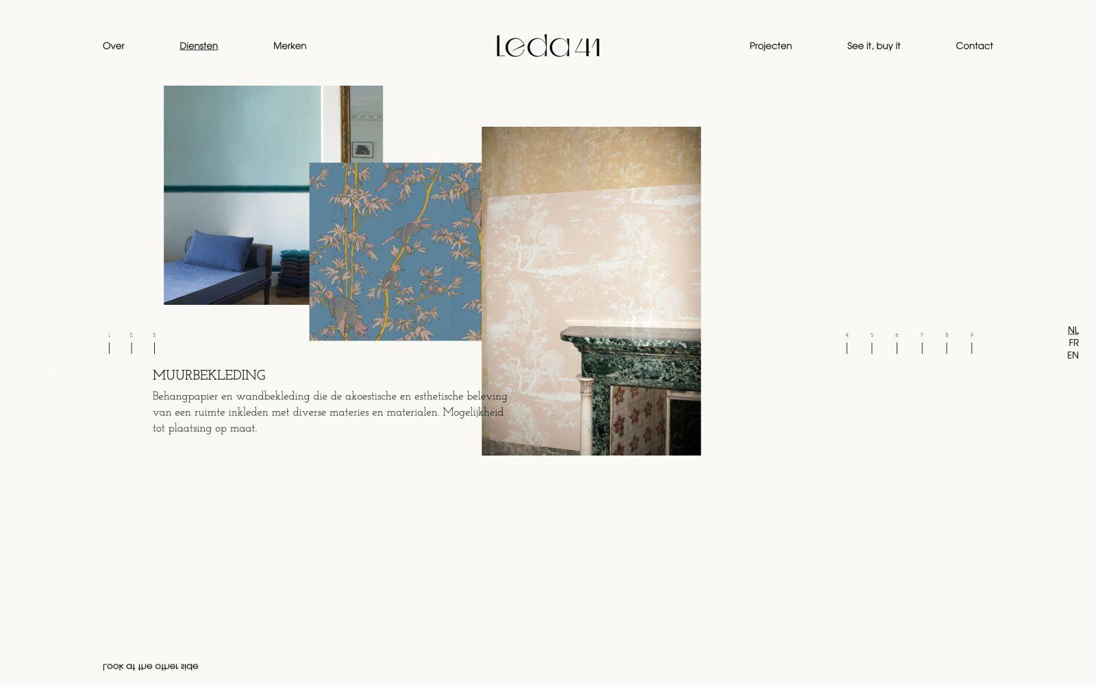WordPress web development voor Leda41 door métier uit Gent